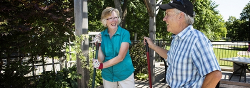 Volunteer Gardeners Tend Kitchener Hospice's 'Oasis'