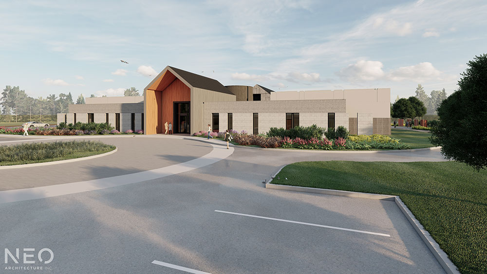 Hospice Waterloo - The Building