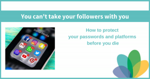Blog Post: You Can't Take Your Followers With You