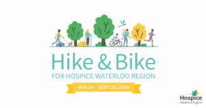 Hike and Bike for Hospice of Waterloo Region