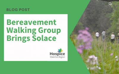HWR's Bereavement Walking Group Brings Solace