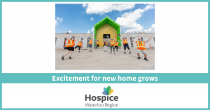Excitement for new home grows