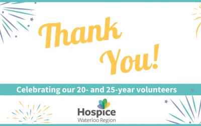 Celebrating long-serving volunteers