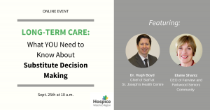 Long-Term Care and Substitute Decision Makers