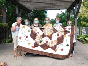 Quilt for Hospice of Waterloo Region
