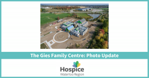 The Gies Family Centre: Photo Update blog
