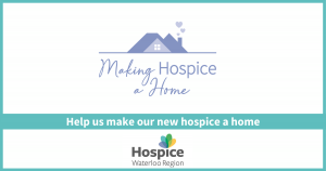 Making Hospice a Home blog graphic