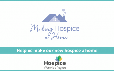 Help us make our new hospice a home