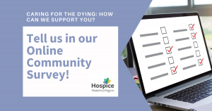 Community Survey: Caring for the Dying