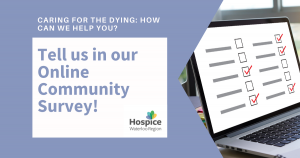 Community survey: How can we help you?