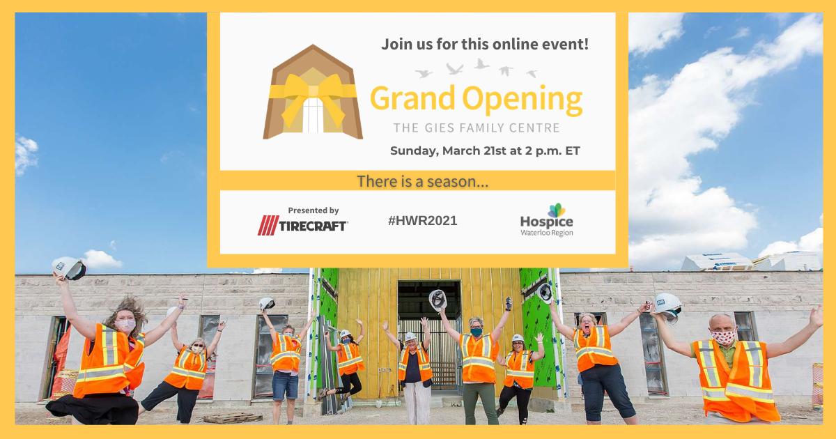 Virtual Grand Opening Celebration
