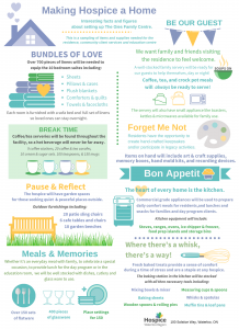 Making Hospice a Home Infographic