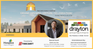 HWR's Virtual Grand Opening to Feature David Chilton and Drayton Entertainment