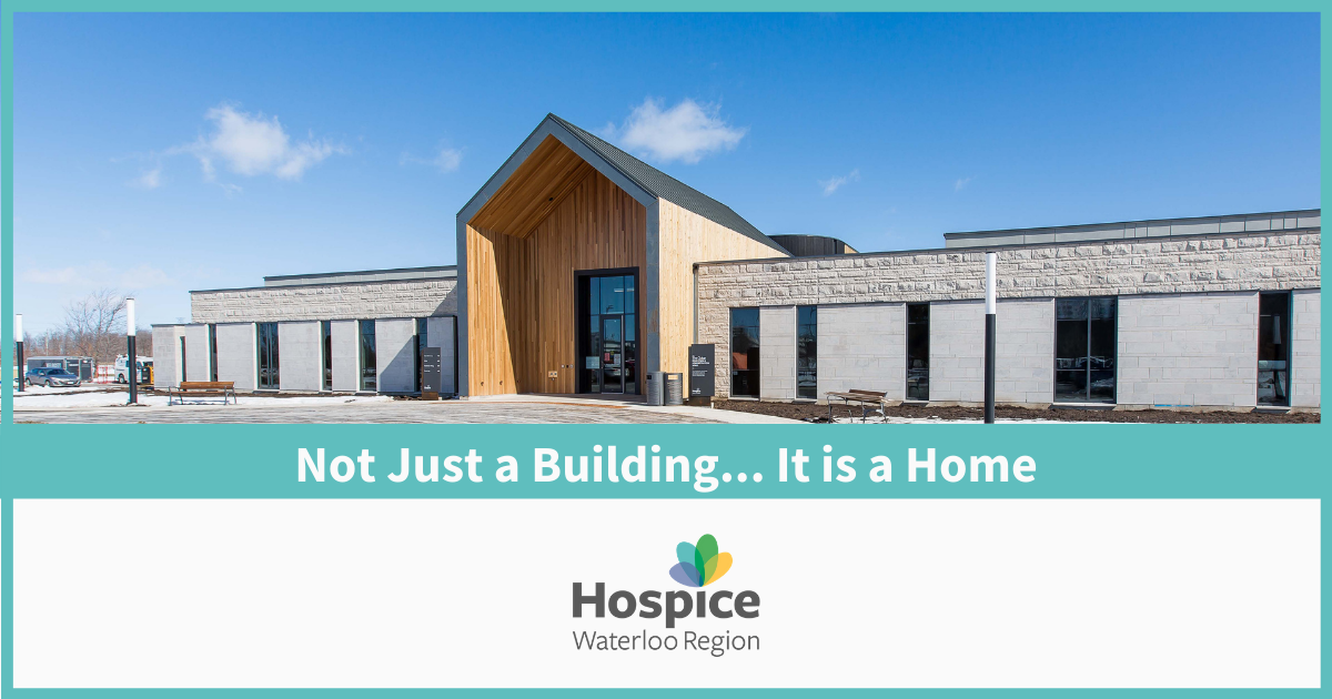 blog - Not just a building... it is a home