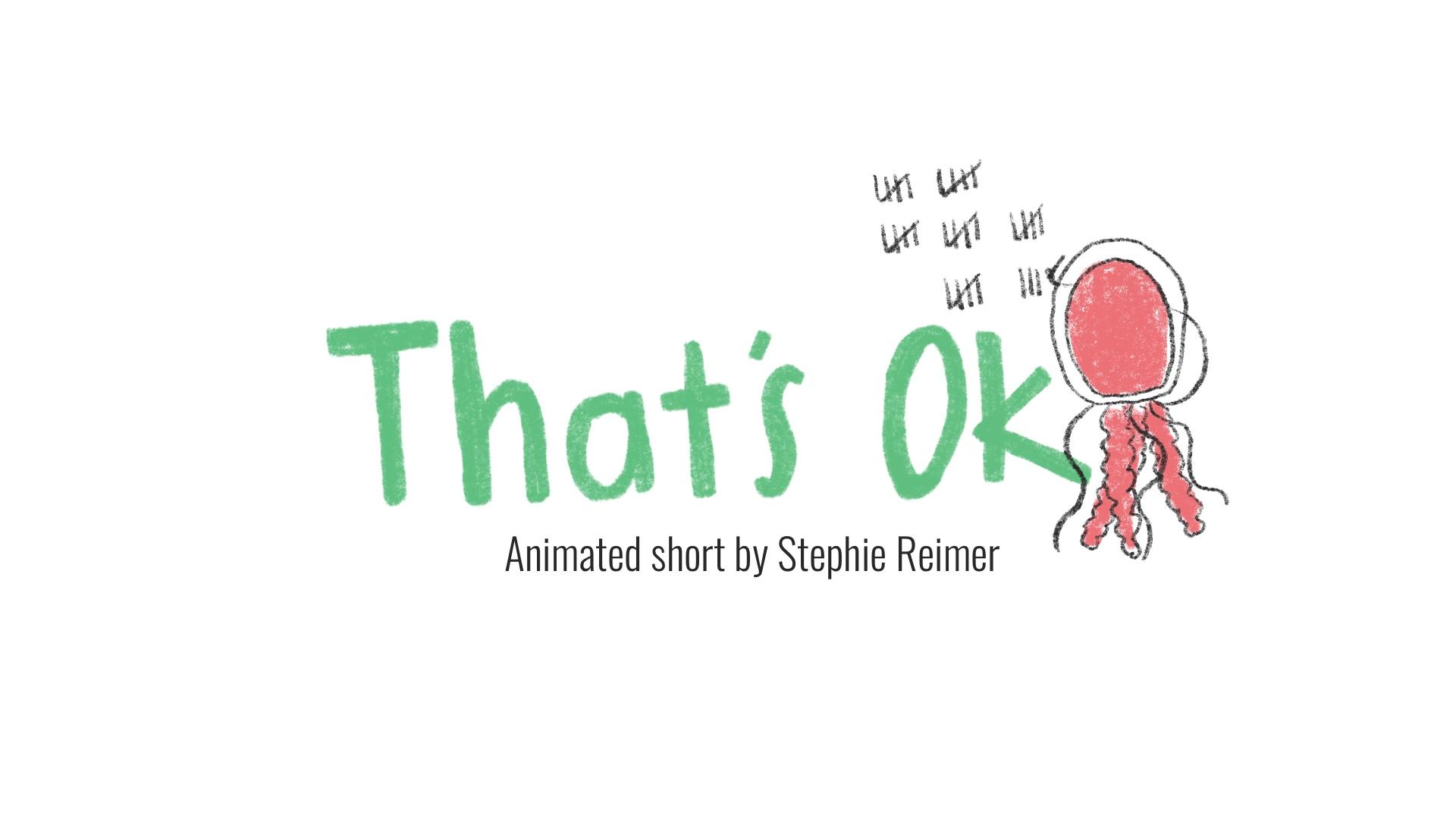Stephie Reimer That's Ok